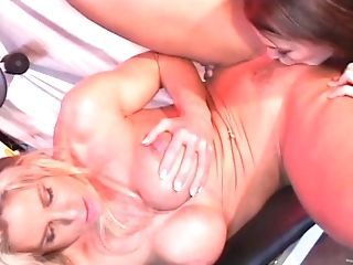 Curvy Lesbos With Faux Tits And Nice Arse Loving Masturbating