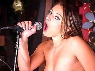 Vr Bangers Youthfull Skinny Doll Fucks While Singing