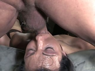 Wenona Is Belted And Fucked Hard By Brutal Dudes