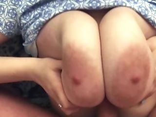 I Love The Big Tits Of My Hot Gf-point Of View Tit Fuck, Oral Pleasure, Fuck And Jizm On Donk