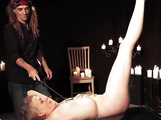 He Knows How To Use His Magic Wand To Bring Ache Unto His Sub