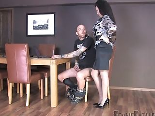 Bashful Dude Drains Off And Gets Cough By His Top Wifey Miss Velour