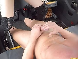 Nice Fucking In The Cab Completes With Jizm On Tits For Ava Austen