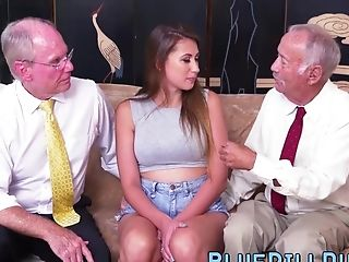 Natural Tits Teenage Gets Cooter Banged By Old Dick Gents