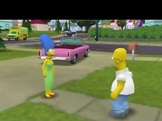 Sexy Homer Finds A Super-naughty Marge Simpson With God