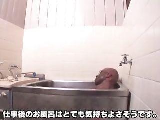 Horny Japanese Doll Meisa Hanai In Crazy Showers, Interracial Jav Scene
