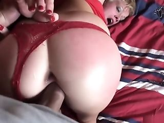 Wild Blonde Deepthroats A Large Jizz-shotgun And Gets Pounded Rough In Point Of View