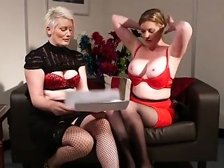 Movie Of Two Cfnm Models Holly Smooch And Sally Juices Taunting