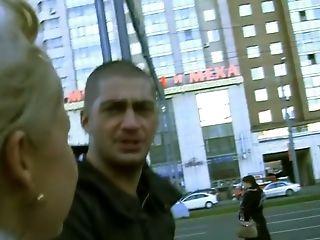 Sexy Blonde Woman Fucks Outdoor On Webcam