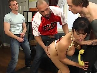 Nasty Mia Little Needs More Than One Strong Dick For The Orgasm