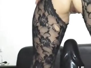 Gigantic Faux-cock Fucking Fledgling Cougar