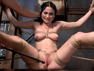 Veruca James In Sexually Abused Ragdoll - Tied Like A Hog