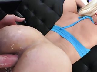 Blonde Fuckslut Gives Dt And Gets Analyzed In A Dirty Way