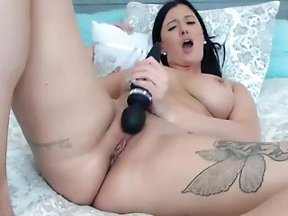 Explosive Orgasm From Supah Hot Brown-haired