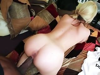 Horny Blode Whore Sarah Vandella Banged Well With Big Black Cock