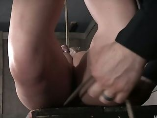 Suspended Whore Helena Locke Gets Her Puss And Ass-hole Penalized