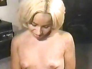 Sexy Blonde Providing Monster Hard-on Stunning Hand Jobs