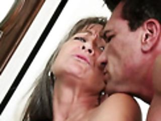 Old Whore Leilani Lei Gets Intimate With One Hot Blooded Youthful Dude