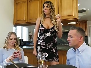 Youthful Spoiled Chick Chloe Scott Tempts Her Egghead Stepbrother And Fucks Him Like A Dirty Whore