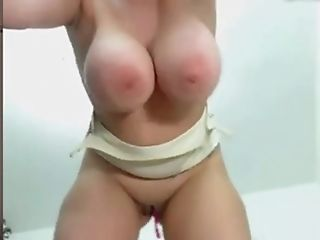 Big Tits Damsel Gets Frigged While Masturbating With A Plaything