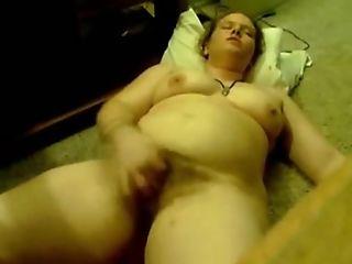 Hot Fatty Female Masturbates And Fucked Her Bald Puss