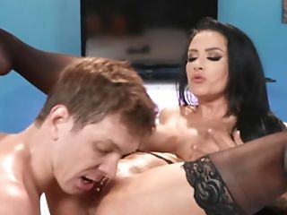 Katrina Jade Is Hired To Motivate Markus Dupree Do His Work Quicker