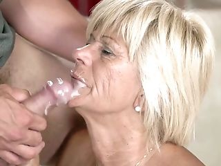 Hot Tempered Old Sitter Diane Sheperd  Has An Affair With Youthfull Student