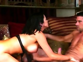 Tremendous Dark Haired Loves To Be Fucked Rough And Hard
